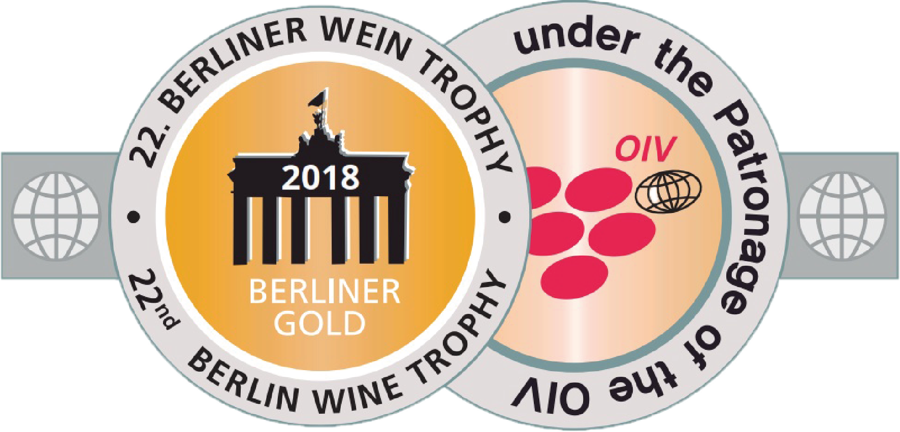 2011 vintage, awarded the Gold Medal at the 2018 Berliner Wein Trophy, Berlin (Germany).