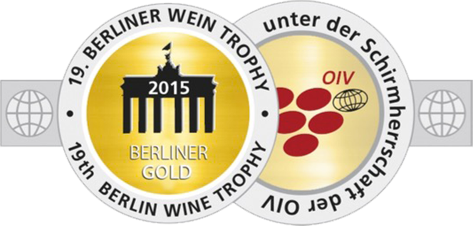 2009 vintage, awarded the Gold Medal at the 2015 Berliner Wein Trophy, Berlin (Germany).