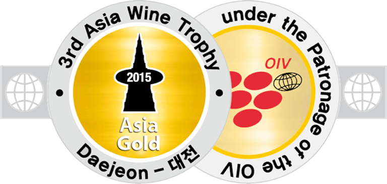 2009 vintage, awarded the Gold Medal at the 2015 Asia Wine &amp, Daejeon (South Korea).
