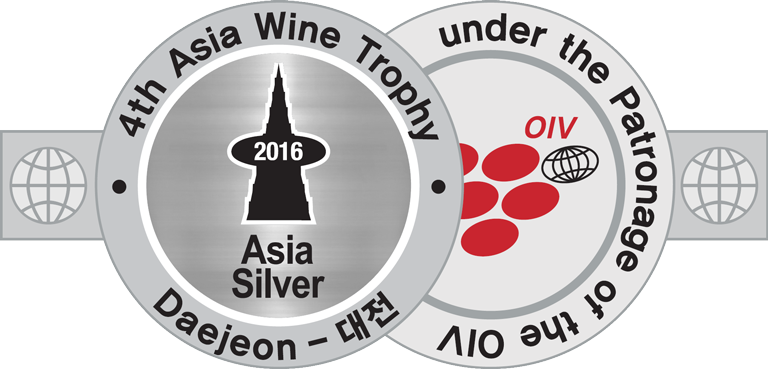 2008 vintage, awarded the Silver Medal at the 2016 Asia WineTrophy, Daejeon (South Korea).