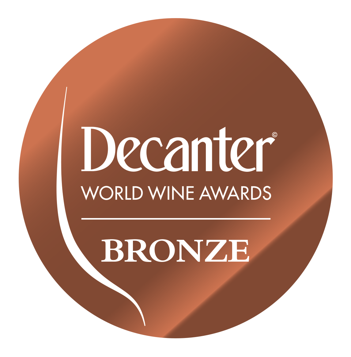 2012 vintage, winner of the Bronze Medal at the 2019 Decanter World Wine Awards, London (United Kingdom).
