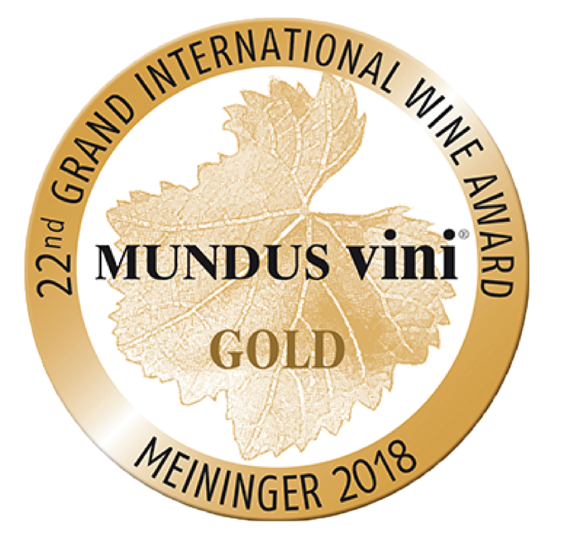 2012 vintage awarded the Gold Medal at the Grand International Wine Award Mundus Vini, 2018, Berlin (Germany).