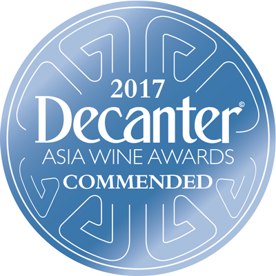 2011 vintage, recommended wine at the 2017 Decanter Asia Wine Awards, Hong Kong (China).