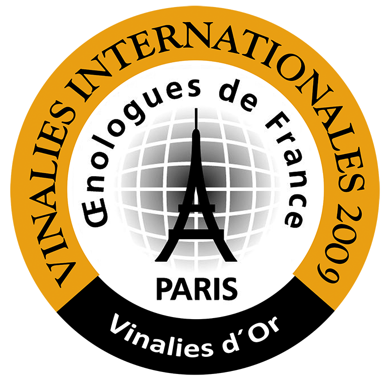 2006 vintage awarded the Gold Medal at the 2009 Vinalies Internationales, 2nd most significant global competition, Paris (France).