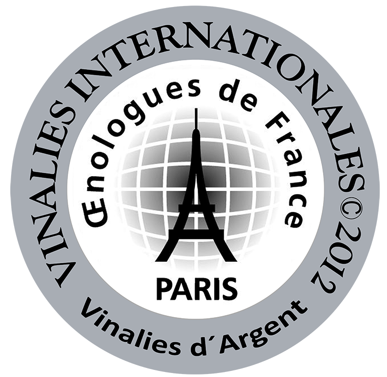 2007 vintage, awarded the Silver Medal at the 2012 Vinalies Internationales, Paris (France).