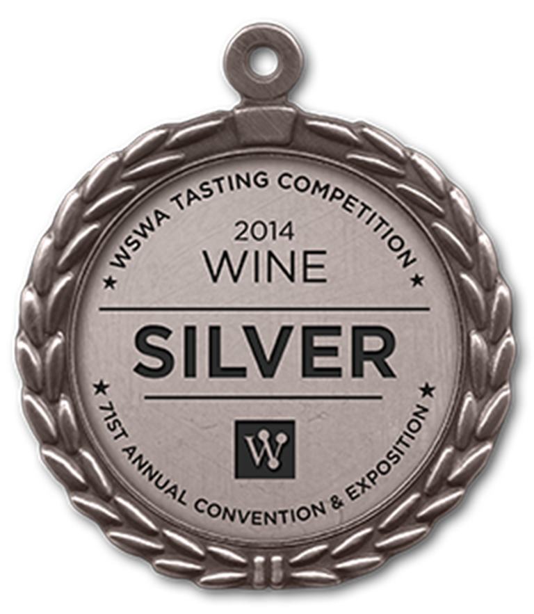2008 vintage, awarded the Supreme Silver Medal at the WSWA 71st Annual Convention Exposition 2014, Las Vegas (United States).